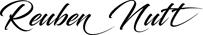 Reuben Nutt Photographer Logo