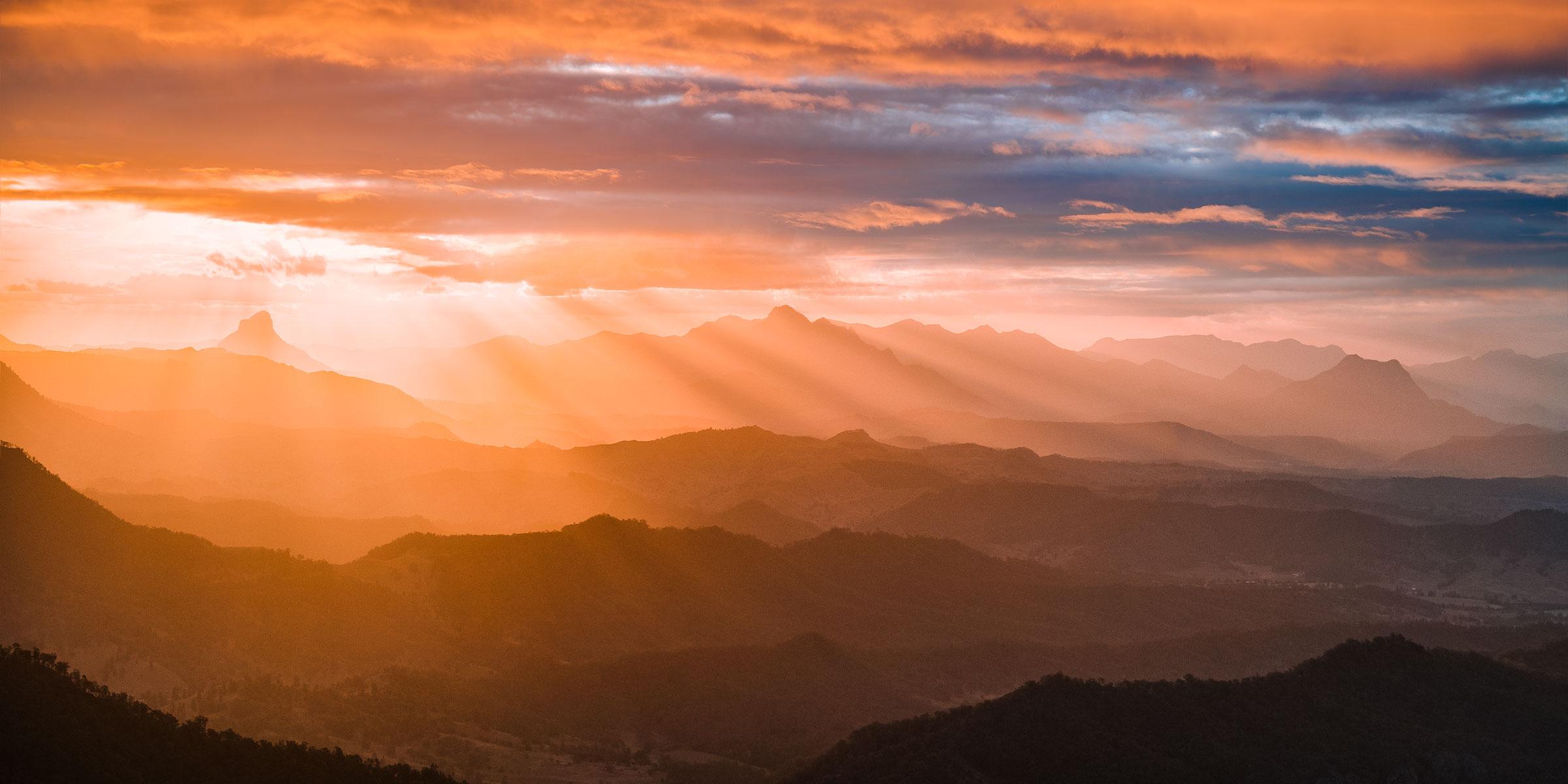 Scenic Rim Sunset