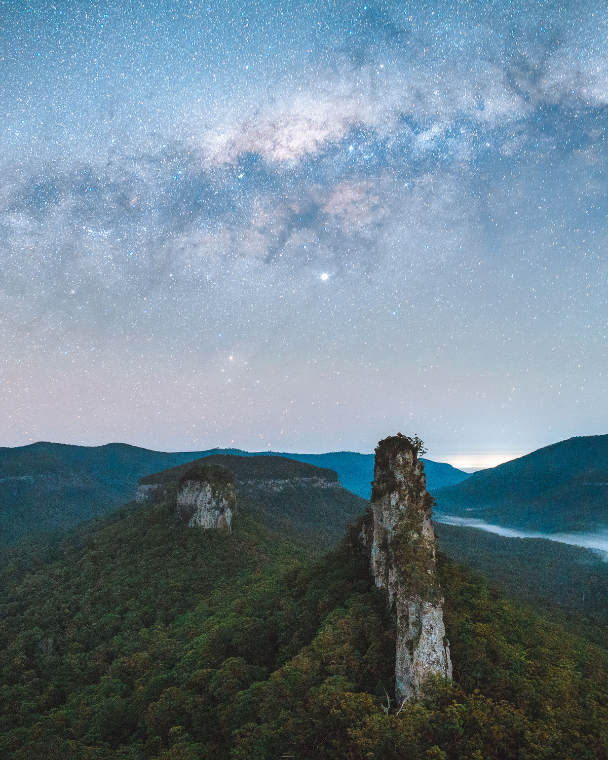 The Steamers Astro, Main Range National Park